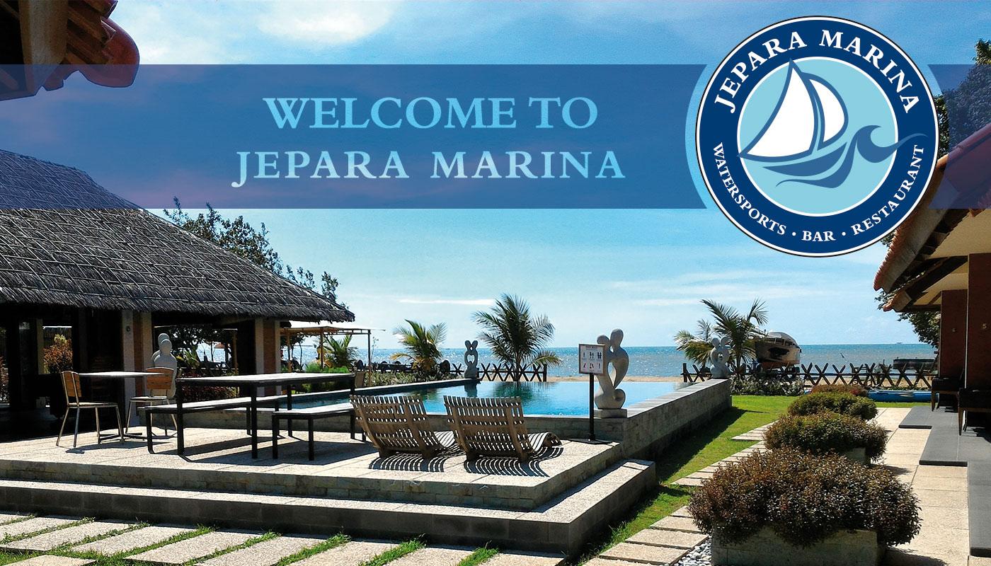 Jepara Marina Restaurant Bar Beach Bungalows Boat